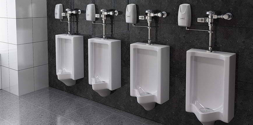 Auto Urinal Sanitising Systems by Flush Hygiene