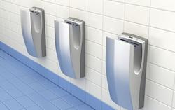 Hand Drying by Flush Hygiene